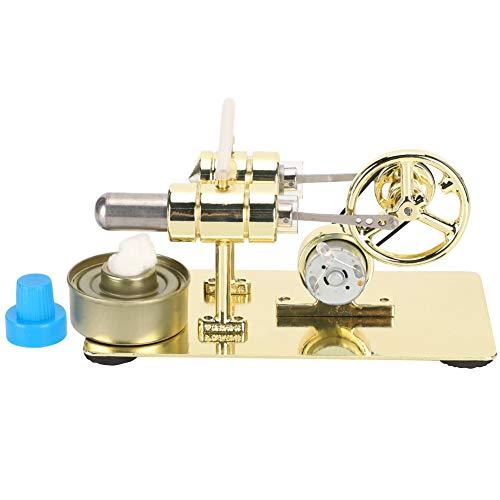 Motor Stirling grande Stirling motor generador de energía eléctrica Motor Stirling de baja temperatura Motor de vapor para estudiantes