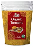 Organic Turmeric Root Powder 2 lb Bag with Curcumin & Non-GMO - Lab Tested for Heavy Metals - by Jiva Organics (32 oz)