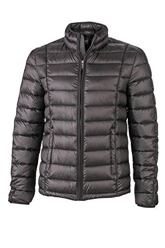 James & Nicholson Herren Jacke Jacke Men\'s Quilted Jacket schwarz (Black) XXX-Large