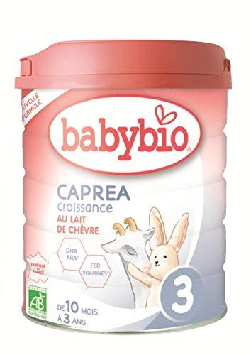 Babybio Leche Caprea 3 Bio Negro 800 g