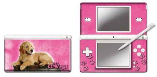 Nintendo DS Lite - Modding Skin -Pink Retriever-