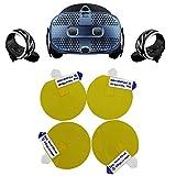Protecteur d'objectif VR pour HTC Vive Cosmos Accessoires VR 4 pièces Transparent Film anti-rayures pour...