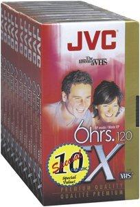 New VHS 10 PACK ( T120DU10 )