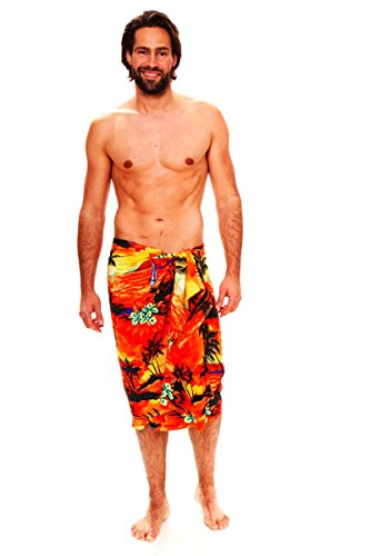 V.H.O. Funky Hawaiian Sarong Big