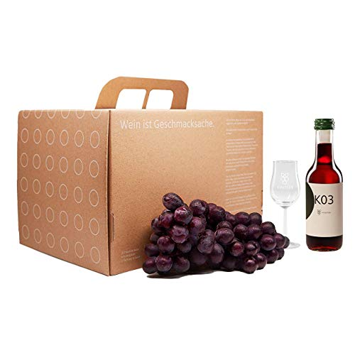 5 Flaschen Mehr Rotwein Probierpaket. Ein Probierset inkl. digitaler Weinprobe für bis zu 8 Personen
