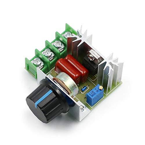 Kfdzsw Circuito Integrado AC 220V 2000W SCR Controlador de Voltaje Dimmer Dimmer Dimmer Controlador de Velocidad Termostato Controlador de Voltaje electrónico Módulo