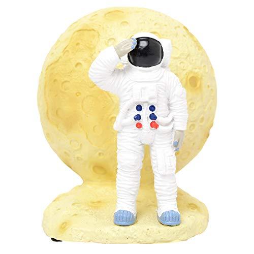間接照明 寝室 おしゃれ 月 アストロノーツ 宇宙飛行士 壁 スタンド ルームランプ リビング 子供部屋 ライト LED コードレス 単4形乾電池3本使用 スイッチ