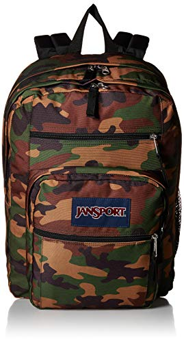JANSPORT Big Student Backpack Surplus Camo Schoolbag JS00TDN74J9 Rucksack JANSPORT Bags