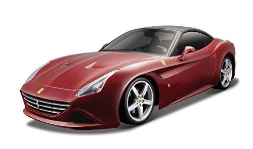 Bburago - 1/18 Ferrari Signature California T (Techo Cerrado), Color Rojo (18-16902)