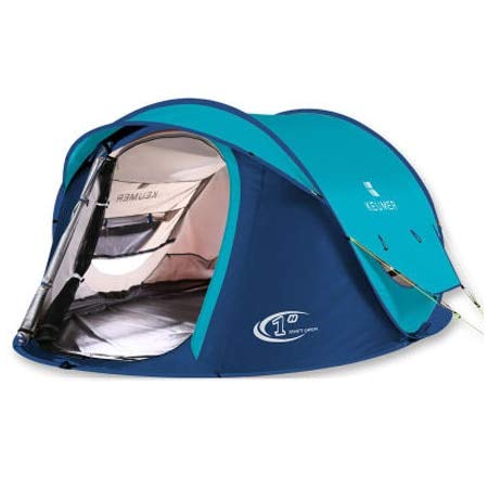 Mdsfe HUI LINGYANG Tent outdoor automatic Tents throwing pop up waterproof camping hiking tent waterproof large family tents-101-blue,A1