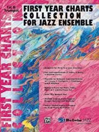 Alfred Publishing 00-sbm01007First Year Charts Collection for Jazz Ensemble–Music Book