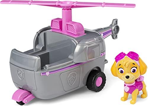 PAW Patrol Skye's Helicóptero Vehículo con Figura Coleccionable, para niños a Partir de 3 años