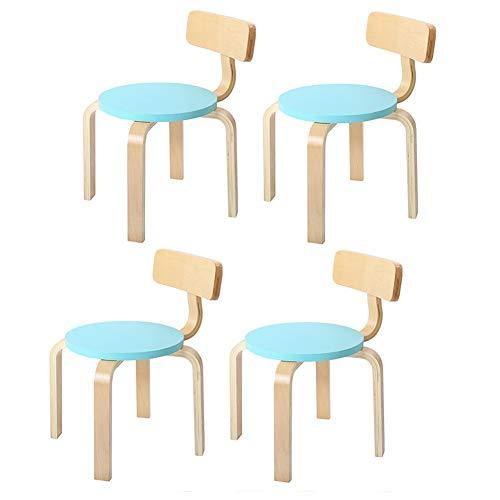 CJC houten kruk, voor kinderen, meubels en accessoires voor slaapkamer, stoelen, gepersonaliseerd cadeau voor gamer, meisjes, vrienden en jongens