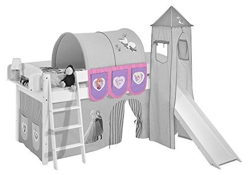 Hängetaschen Eiskönigin Lila - für Hochbett, Spielbett und Etagenbett