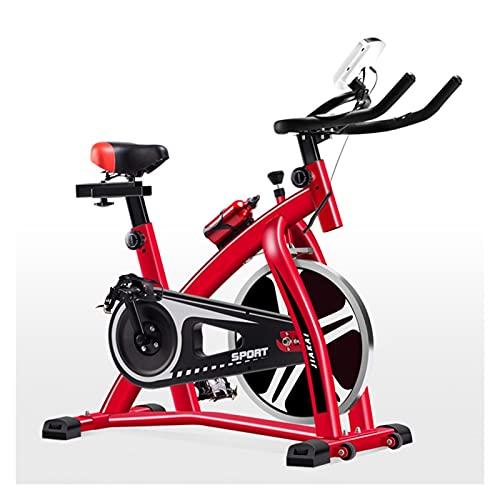 Spinning Bike Bicicleta de Ejercicios para el hogar, Bicicleta Fija Interior con Asiento y reposabrazos Ajustables, Bicicleta giratoria de Gimnasio