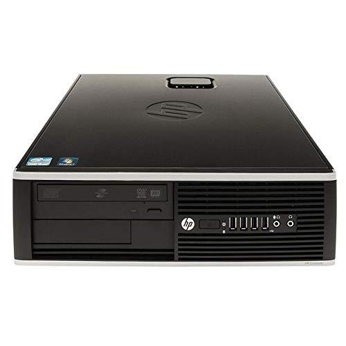 Ordenador de sobremesa HP Elite 8300 SFF (Intel Core i5-3470 3.2 GHz 16GB de RAM Disco SSD de 240GB + 500GB HDD Lector DVD Windows 10 Pro ES 64) (Reacondicionado)