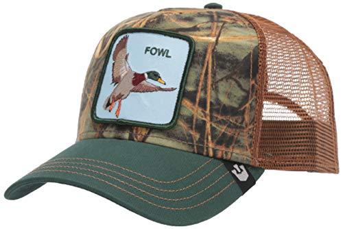 Goorin Bros. Trucker Cap Duck Duck Fowl Grün Braun, Size:ONE Size