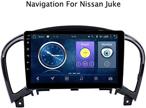 9 Pulgadas Android 8.1 GPS Radio TV, Radio con Pantalla táctil, para Nissan Juke 2010-2014 YF15 Infiniti ESQ 2011-2017, con el Control del Volante Dab CD + DVD Bluetooth, Wi-Fi, 1 + 16G,W.
