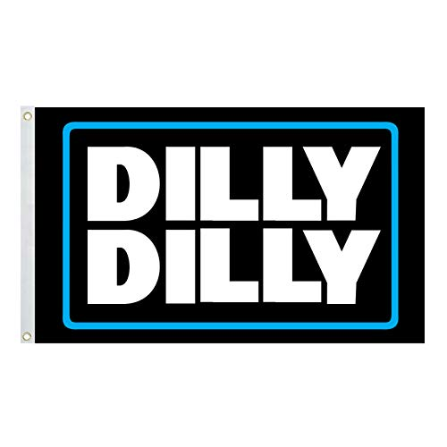 Dilly Dilly Flag - Cool Beer Flags - Funny Banner for College Dorm Room, Man Cave, Tailgates and Parties - 3x5 Feet