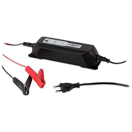 ANSMANN Autobatterie Ladegerät ALCT 6-24/4 - Vollautomatisches Batterieladegerät für Autobatterien & Bleiakkus mit 6V, 12V & 24V / 4A - Erhaltungsladegerät ideal für PKW, Motorrad, Boot etc.