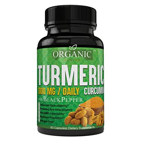 Extra Strength Turmeric Curcumin 1,000 MG Premium Grade Powerful Antioxidant Turmeric Curcumin at It's Best!