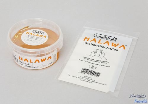 HALAWA 200g + Stoffstreifen