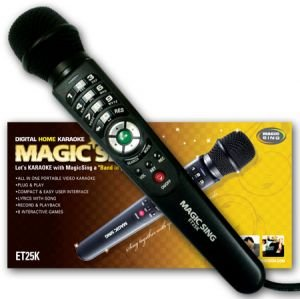 2016 ET25K Tagalog Filipino Version Magic Sing Magic Mic Karaoke Microphone with 2,300 songs