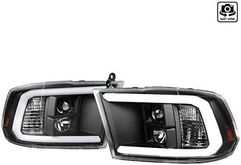 NEW before selling Clear Lens Black Bezel Max 41% OFF Housing DRL Light Bar Projector LED Headl