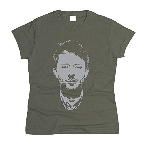 PrintPro Thom Yorke Radiohead T-Shirt Women (M)