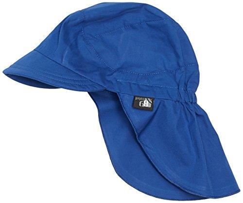 Sterntaler Unisex Schirmmütze mit Nackenschutz, Blau (blau 356), 49 cm