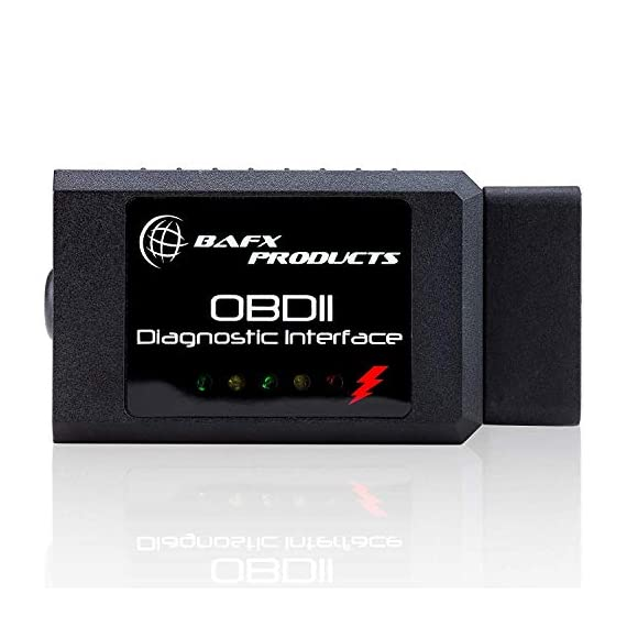 Bafx Products - For Android Only - Wireless Bluetooth Obd2 Scanner Diagnostic Code Reader & Scan Tool - Scan, Reset… 8 NOT COMPATIBLE WITH iOS DEVICES - (iPhones, iPads etc); OUR BLUETOOTH OBD2 scanner IS ONLY COMPATIBLE WITH ANDROID OR WINDOWS DEVICES; For iOS devices, see our WiFi OBD Reader READ & RESET - Our OBD2 diagnostic scanner tool will work on all cars purchased in the USA model year 1996 or newer; Unlike other OBD2 scanners, ours works on ALL OBD2 protocols including J1850 and CAN; With our scan tool you can read & reset the check engine light on your car with ease REAL TIME - Monitor the diagnostic sensors in your vehicle in real time for things like O2 data, fuel pressure, EVAP system & more; Car reporting an EVAP code? Check your O2 readings to see which sensor is faulty and get it fixed; React quickly to problems like a professional mechanic
