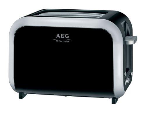 AEG AT3100, Negro, 870 W, 296 x 195 x 226 mm - Tostadora