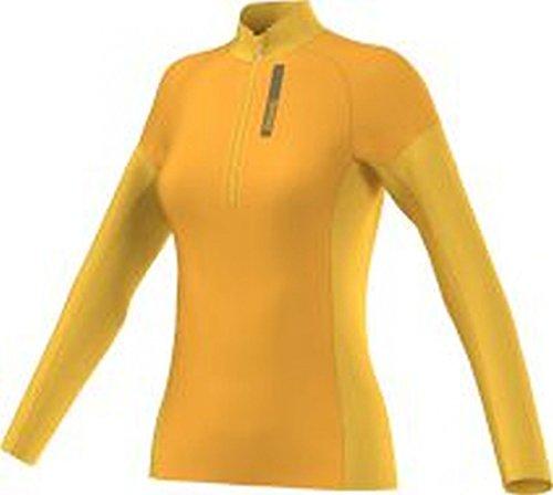 adidas Terrex skyClimb Parte Superior–Chaqueta de Forro Polar, Primavera/Verano, Mujer, Color Dorado - Dorado, tamaño 42 [DE 40]