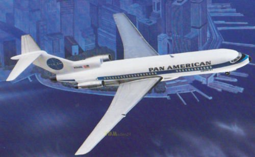 Unbekannt Boeing 727-100 - 1:100 Master Modell / Plasticart 1010, Original! RAR DDR