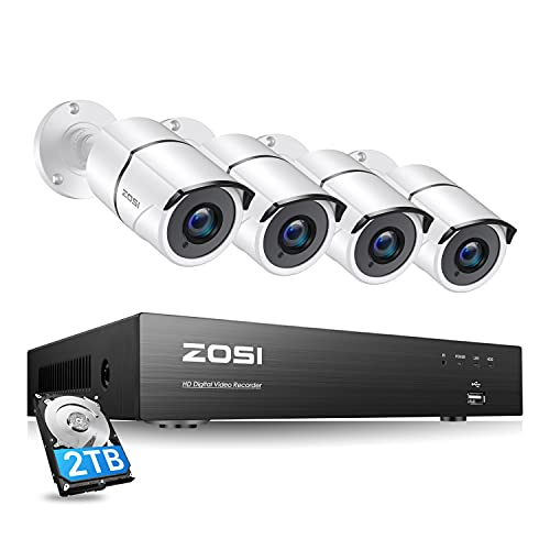 ZOSI 4K Ultra HD Security Cameras System