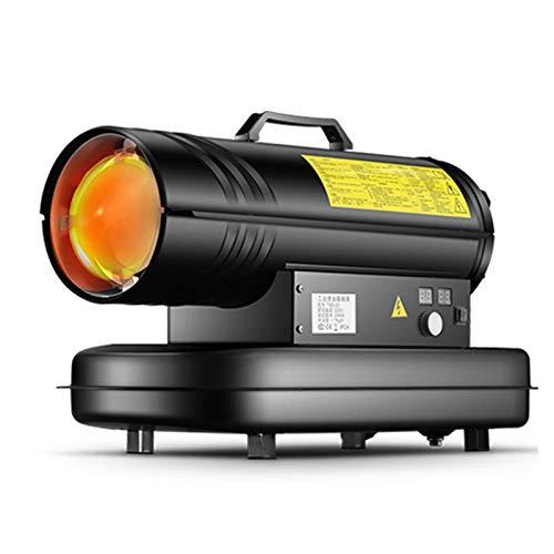 Zzmop Industria heizkanone,Direkt-Ölheizgebläse,Tragbare Dieselheizung mit Eingebautem Thermostat und Automatischer Überhitzungssicherung.