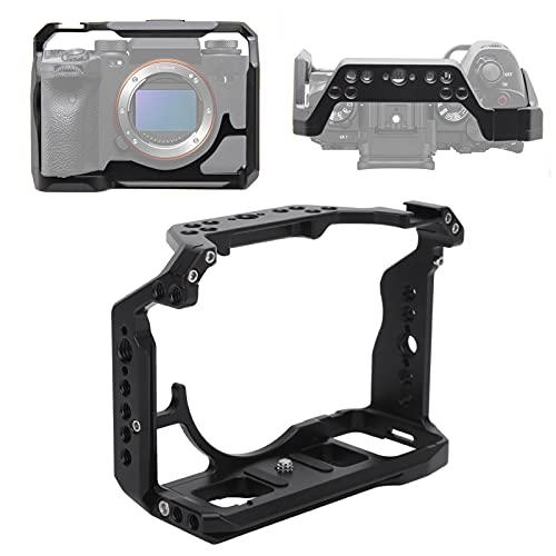 Deror Gabbia per Fotocamera Leggera in Lega di Alluminio per Fotocamera Sony A1, Parte Protettiva per Fotocamera