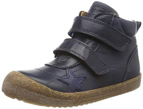 Bisgaard Unisex-Kinder Jamie Hohe Sneaker, Blau (Navy 602), 28 EU
