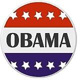 """Obama Red White Blue Stars 2.25"""" Large Magnet President Barack"""