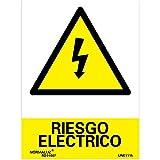 Normaluz RD30007 - Señal Riesgo Eléctrico PVC Glasspack 0,7 mm 21x30 cm