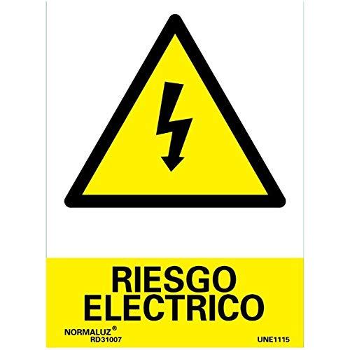buenos comparativa Normaluz RD30007 – Señales de peligro de descarga eléctrica de la unidad de vidrio 0,7 mm 21 × 30 cm y opiniones de 2021
