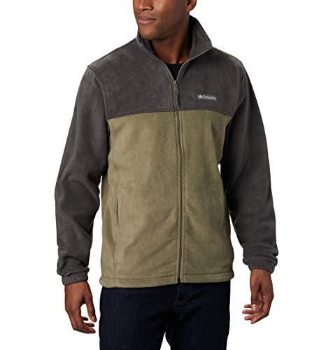 Columbia Steens Mountain Fleece mit Reißverschluss 2.0 Herren, Hai, Steingrün, XL
