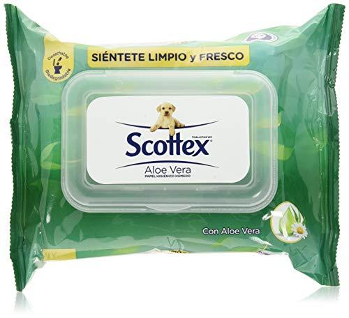 Scottex Sensitive toiletpapier met aloë vera, 12 verpakkingen à 70 stuks, in totaal 840 stuks