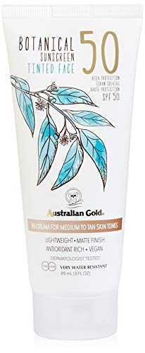 Australian Gold Botanical Spf 50 Medium Faces