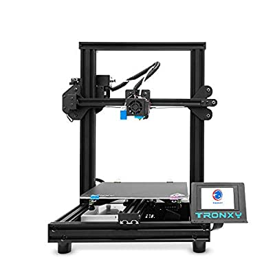 TRONXY XY-2 PRO With Titan Extruder 3D Printer Prusa I3 255 * 255 * 245mm,Quick and Easy Both to Install and Use, Filament Detector and Auto level,For Beginner,Education and Home,PLA PETG TPU