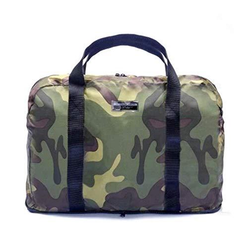 Borsa Borsone Nylon Viaggio Palestra Ripiegabile A.G.SPALDING&BROS Uomo Donna Woman Man Folding Duffle Camouflage