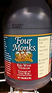 Four Monks Red Wine Vinegar 1 Gal (2 Pack)