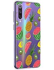 Oihxse Funda Xiaomi Redmi 7, Ultra Delgado Transparente TPU Silicona Case Suave Claro Elegante Creativa Patrón Bumper Carcasa Anti-Arañazos Anti-Choque Protección Caso Cover (A4)