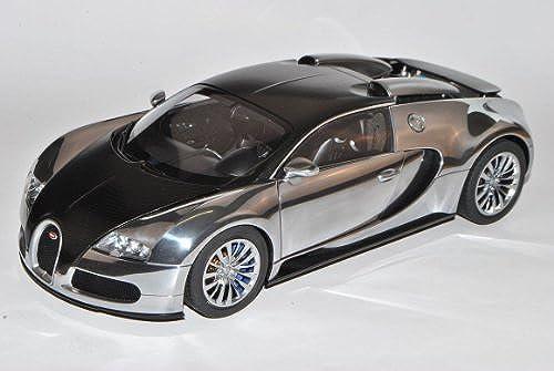 Bugatti Veyron EB 16.4 2008 Pur Sang SchwarzCoupe 70966 1 18 AutoArt Modell Auto