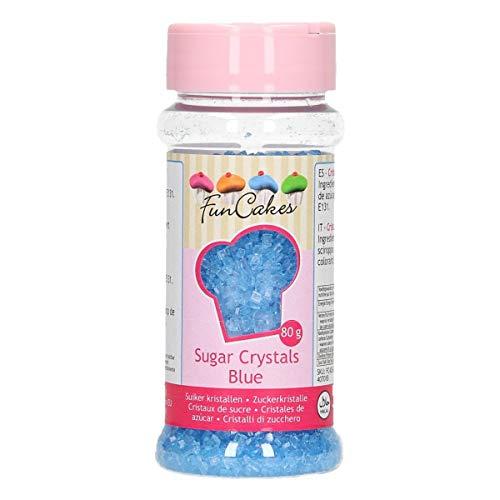 Funcakes - Sucre Coloré Funcakes 80 Gr - Bleu